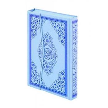 Orta Boy Mavi Renk Kuraný Kerim (Ayfa Basýn)