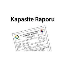 KAPASİTE RAPORU