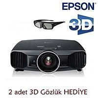 Epson EH-TW9200 2400 Ansi Lumen 600.000:1 kontrast Full HD 3D LCD Ev Sineması Projeksiyonu