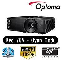 Optoma HD144X 3400 Ansi Lumen Full HD 1920*1080 3D Rec. 709 Ev Sinemasý Projeksiyonu