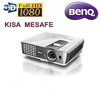 BenQ W1080ST+ 2200 Ansi Lumen Full HD KISA MESAFE 3D Ev Sinemasý Projeksiyonu