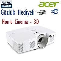 ACER V7500 2500 Ansi Lumen Full HD DLP 3D Ev Sineması Projeksiyonu