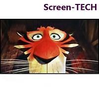 Screen-TECH Kendinden yapýþkanlý GRÝ projeksiyon yüzeyi 225*126