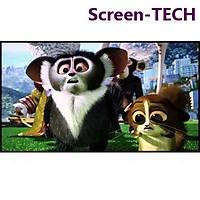 Screen-TECH Kendinden yapýþkanlý BEYAZ projeksiyon yüzeyi 225*126