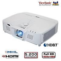 VIEWSONIC PRO8530HDL Full HD 1920x1080 5.200AL 4xHDMI RJ45 Ag Yönetimi Ops. HDBaseT ve Kablosuz, Prof. Kurulum Özel Uygulama Projeksiyon