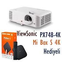 VIEWSONIC PX748-4K 4000 Ansi Lumen 4K HDR Ev Sinemasý Projeksiyonu