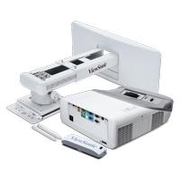 VIEWSONIC PS700W 3300 Ansi Lumen WXGA 1280X800 HDMI 3D ULTRA KISA MESAFE (ULTRA SHORT THROW) PROJEKSÝYON + Aský Aparatý