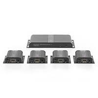 ASSMANN DS-55303 Digitus HDMI Sinyal Uzatma Cihazý, 4 x Alýcý (Receiver), 1 x Verici (Transmitter) Birim dahil, 40 metre