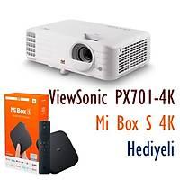 VIEWSONIC PX701-4K 3200 Ansi Lumen 3840x2160 4K DLP Ev Oyun Projeksiyonu