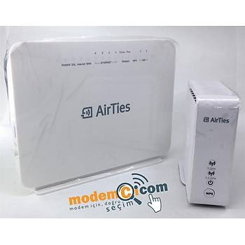 Airties Air 5760 1600 Mbps 11ac ADSL2+/VDSL2 Modem+Airties Air 4920 300MBPS-1600MBPS