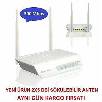 Airties Air 5453 300 Mbps 4 Port Wireless Modem