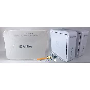 Airties Air 5760 1600 Mbps 11ac ADSL2+/VDSL2 Modem+Airties Air 4820 1300MBPS