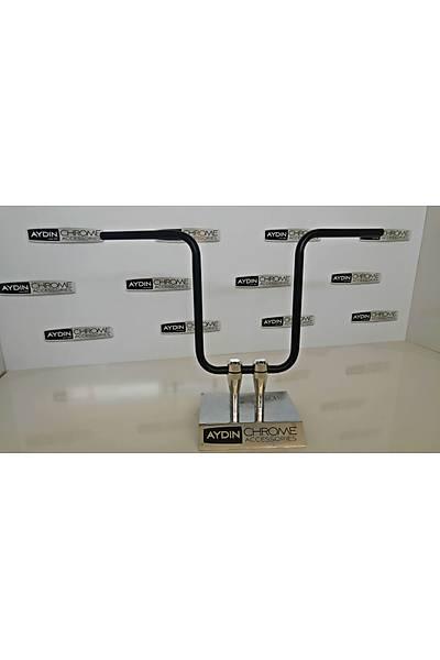 Ape Hanger Paralel Kol 22MM Siyah