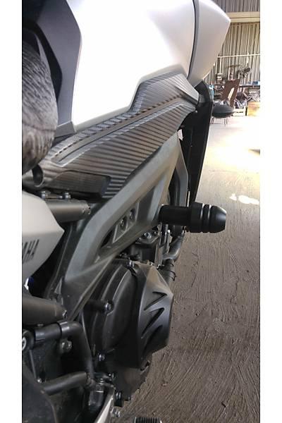 Yamaha MT09 Tracer Koruma Takozu