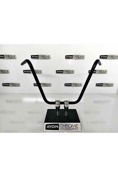 Ape Hanger 22MM Siyah
