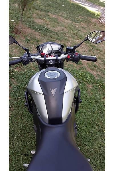 Yamaha MT25 Koruma Demiri Siyah