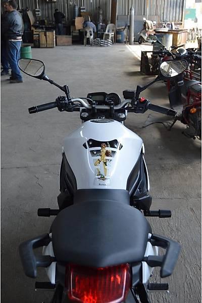 Yamaha XJ6 Koruma Takozu
