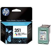 HP CB337EE (351) UC RENKLI MUREKKEP KARTUSU 170 SAYFA