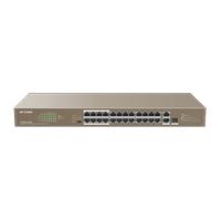 ÝP-COM 24 Portlu Yönetilemez Switch F1126P-24-250W