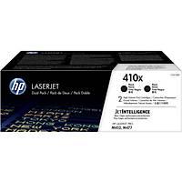 HP CF410XD (410X) SIYAH 2LI YUKSEK KAPASITELI TONER 6.500 SAYFA