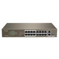 ÝP-COM 18 Portlu Yönetilemez Switch F1118P-16-150WV2.0