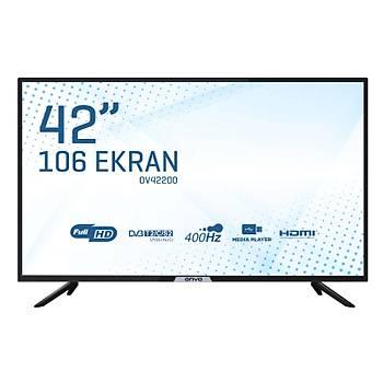 Onvo OV42200 42'' 106 Ekran Dahili Uydu Alýcýlý Full HD LED TV