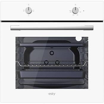 Esty Beyaz Cam Ankastre Set Modern