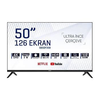 SABA SB50F350 126 Ekran Frameless 4K UHD Android Smart Led Tv