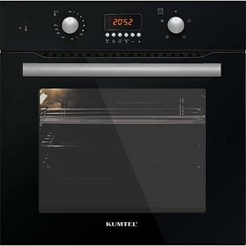 Luxell A6 SF2-DT Ankastre Fýrýn Emaye Siyah Renk