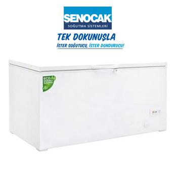 Þenocak D415 Dual DF Joker A+ Sandýk Tipi 400 Lt. Derin Dondurucu