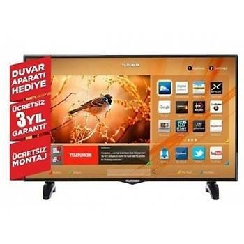 TELEFUNKEN 49TF6520 49'' 124 Ekran Smart Wi-Fi Uydulu Led Tv