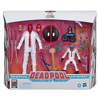 Marvel Comics 80th AnniversarMarvel Legends Deadpool & Hit-Monkey Two-Pack