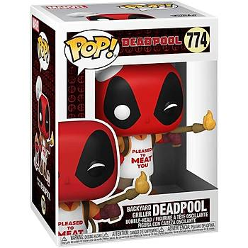 Funko POP Marvel - Deadpool 30. Yýl Özel Serisi – Backyard Griller Deadpool