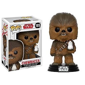 Funko POP Star Wars E8 The Last Jedi Chewbacca With Porg