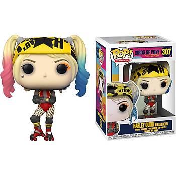 Funko POP DC Birds of Prey - Harley Quinn Roller Derby