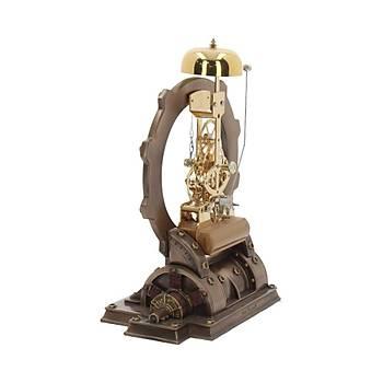 Time Machine 21.5cm Dekoratif Saat