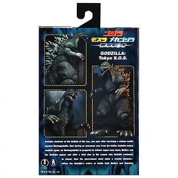 Godzilla NECA 2003 Movie 12 Inch Head to Tail  Action Figure