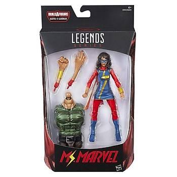 Hasbro Marvel Legends Spider-Man 6-Inch Ms. Marvel