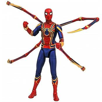 Diamond Select Toys Marvel Select Avengers Infinity War Iron Spider-Man Action Figure