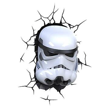 3D Light FX Star Wars StormTrooper Duvar Lambasý