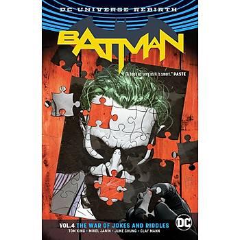 Batman (2016-) Vol. 4: The War of Jokes and Riddles