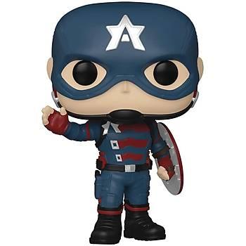Funko Pop Marvel  Falcon and The Winter Soldier - John F. Walker as Captain America