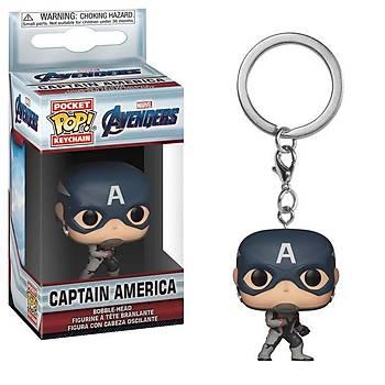 Funko POP Anahtarlýk Avengers Endgame - Captain America
