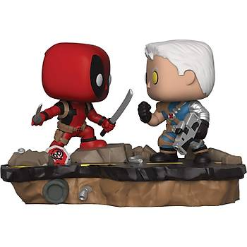 Funko POP Marvel Comic Moments-Deadpool Vs Cable