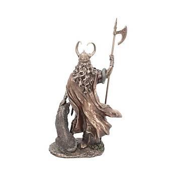 Loki-Norse Trickster God 35cm Dekoratif Savaþcý