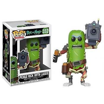 Funko POP Rick & Morty Pickle Rick W/ Laser
