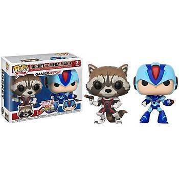 Funko POP 2-Pack Capcom Vs. Marvel Rocket Vs MegaMan X
