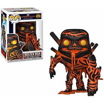 Funko POP Marvel Spider-Man Far From Home Molten-Man