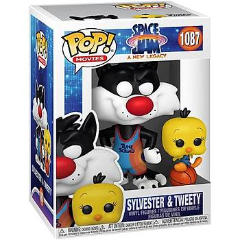 Funko Pop Movies Space Jam A New Legacy - Slyvester and Tweety