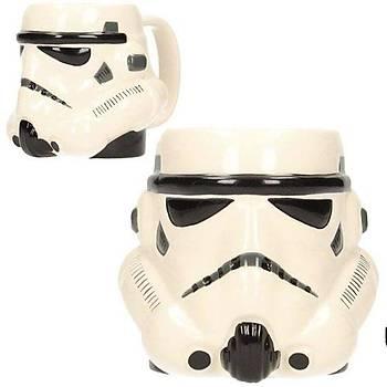 Star Wars Stormtrooper 3 Boyutlu Kupa Bardak